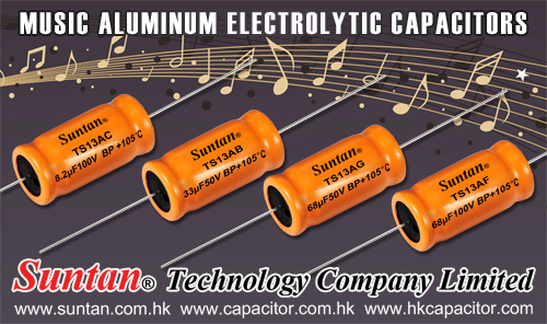 Suntan Explain You How Audio / Music Aluminum Electrolytic Capacitors  Work in Loudspeakers