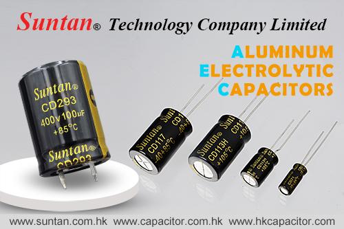 Suntan Aluminum Electrolytic Capacitors