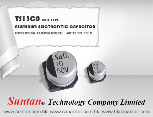 Suntan's SMD Aluminum Electrolytic Capacitor – TS13C0