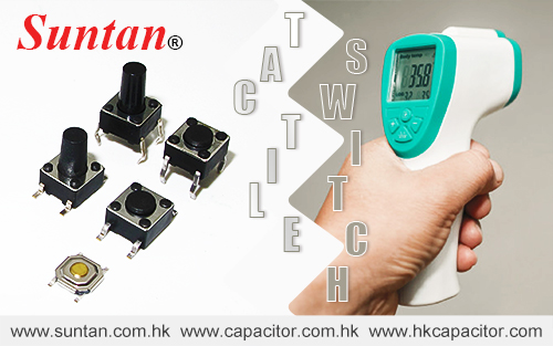 Suntan Tactile Switch –Biggest Variety Meets Highest Reliability