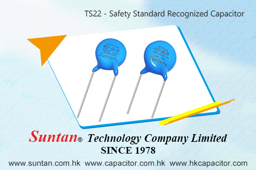 Suntan Safety Standard Recognized Capacitors TS22 series