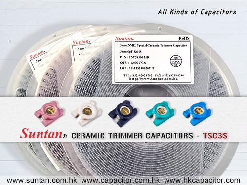 Suntan TSC3S Ceramic Trimmer Capacitor for Precision Equipment