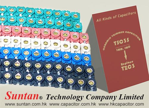 Suntan SMD Ceramic Trimmer Capacitor-TSC3S