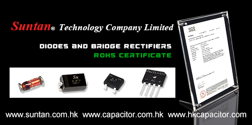 Suntan Updated the RoHS Certificate of Our Diodes and Bridge Rectifiers