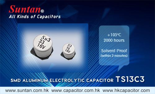 Suntan's SMD Aluminum Electrolytic Capacitor – TS13C3
