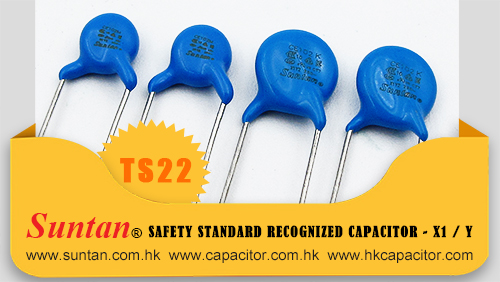 Suntan Safety Standard Recognized Capacitor - X1 / Y