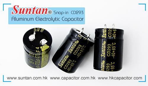 Suntan's Snap-in Aluminum Electrolytic Capacitor – CD293
