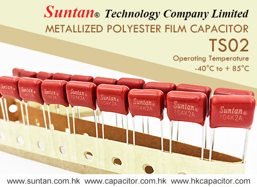 Suntan's Metallized Polyester Film Capacitor – TS02