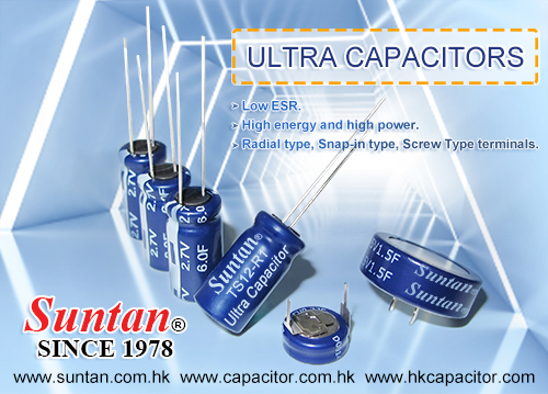 Suntan Ultra Capacitors(Supercapacitor)