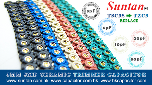 Suntan 3mm SMD Ceramic Trimmer Capacitor